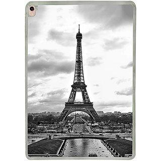 Casotec Paris City Design 2D Printed Hard Back Case Cover for Apple iPad Pro 9.7