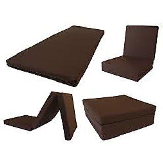 Buy Pumpum 3 Fold Pu Foam Mattress 72x35x4 Inch Online