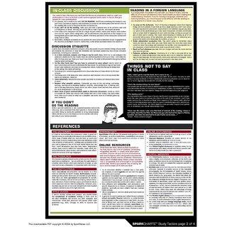 Vinteja Charts Of - Sc Study Tactics C - A3 Poster Print