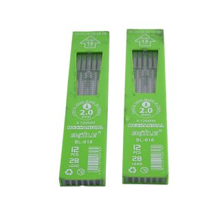 Saamarth Impex Mars Carbon 2 mm Black 2B Leads 2 Packet (Pack Of 12 ) SI-1769