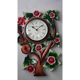 Handmade Wall Clock With Three For Home Decor