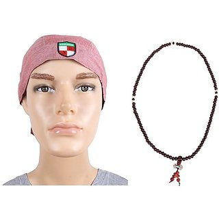 Sushito Devine Ridder's Headwrap For Men With Mala JSMFHHR0096