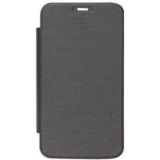 Intex Aqua Y2 IPS Flip cover Color Black  FLIP854