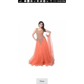10d90b5f43fae Buy party gown Online   ₹600 from ShopClues