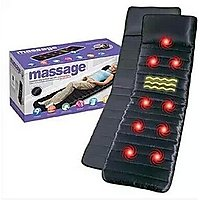 BODY MASSAGER BED MATTRESS WITH 9 MOTOR AND 9 SOOTHING HEAT + 1 MINI MASSAGER