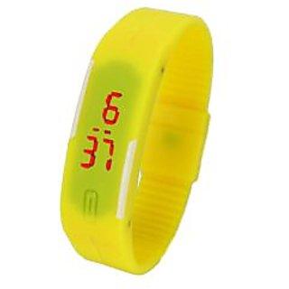 yellow led watch