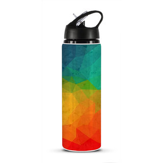Nutcase Water Bottle Multicolour 800 ml Water Bottle