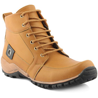 Golden Sparrow Mens High Ankle Boots
