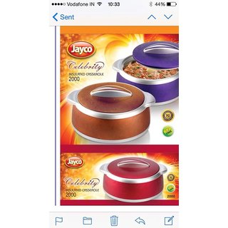 Jayco Hot Pot Insulated Cerole Pack Food Warmer Gift Set