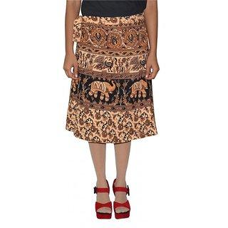 Gurukripa Shopee Printed Women's Wrap Around Skirts GSKWCK-A0294