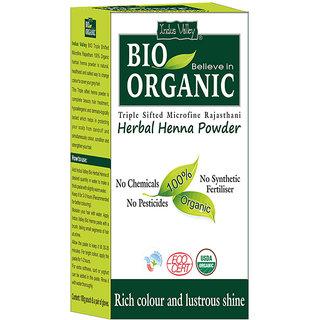 Indus valley Bio Organic Herbal Henna Powder 100 G