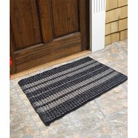 Peponi Multi Cotton Hand Woven Door Mat Pack Of 1