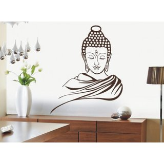 Lord Buddha Wall Stickers Vinyl Stickers Home Decor Drawing / Bedroom # 25