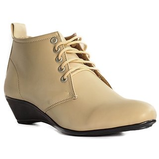BLUE TUFF STYLISH Beige Girls Ladies Shoes GS HX 206