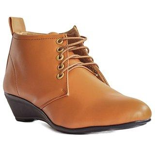 BLUE TUFF STYLISH Brown Girls Ladies Shoes GS HX 207