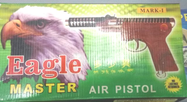Buy air gun powerful range double spring air gun free 300 pellets Online -  Get 65% Off
