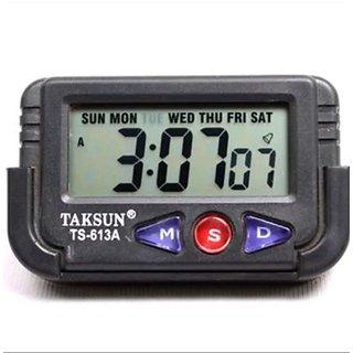 QUARTS DIGITAL CLOCK, DIGITAL LCD ALARM TABLE DESK CAR