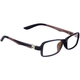 Terry Ford TF-1818 Black C3 Small Rectangle Kids Eyeglasses