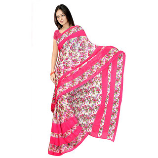 MD Textile Royal Beauty peach Coloured Saree With Blouse