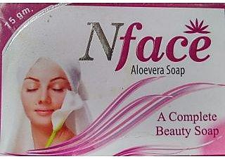 GS N Face Aloevera soap (set of 5 pcs.) - 75 gm Each