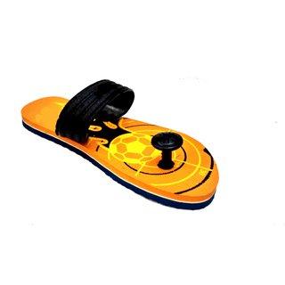 Charan Paduka Flip Flop (orange)