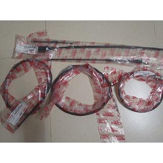 ORIGINAL YAMAHA RX100/RX135/RXZ CABLE KIT