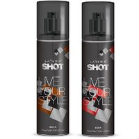 Layer'r Shot Live Your Style Rock, Fury Deodorant 135ml (pack Of 2)