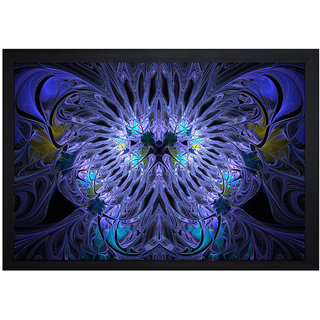 MLH Handicraft Gift Set Digital Effects With UV Print Canvas Painting