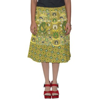 Sunshine Printed Women's Wrap Around SkirtsA0322