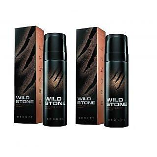 Wild Stone Bronze Body Spray (pack of 2) 120ml each