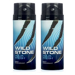 Wild Stone Aqua fresh Body Deodrant 150ml Set of 2