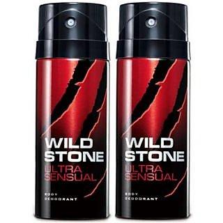 Wild Stone Ultra SenSual Body Deodrant 150ml pack 2