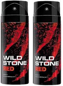 Wild Stone Red Deodorant (Set of 2) 150ml each