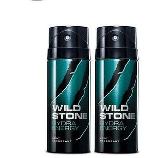 Wild Stone Hydra Energy Deodorant (Set of 2) 150ml each