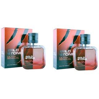 Wild Stone Ultra Sensual Spray Perfume 100ml Pack 2