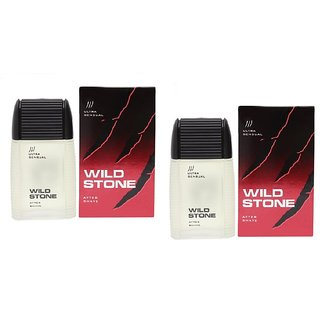 Wild Stone Ultra Sensual After Shave Lotion 100ml each pack 2