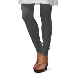1628f5daf47fc Buy Eazy Steel Grey Blended Leggings Online @ ₹298 from ShopClues