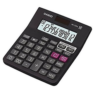 12 Degit Desk Type MJ-12Da Digital Basic Calculator