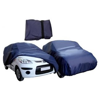JBB - Waterproof Parachute Blue Car Body Cover for Nissan Sunny  - (With Side Mirror Pockets)