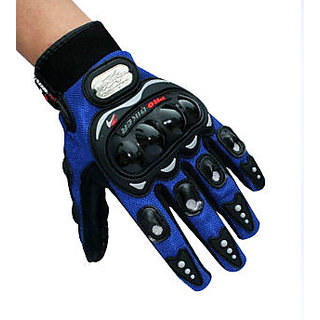 Pro Biker - Gloves Full - Blue - Size (XL)