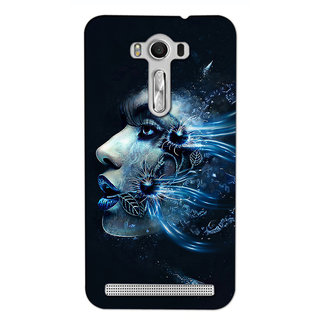 Instyler 3D Digital Printed Back Cover For Asus Zenfone 2Lazer Ze550Kl