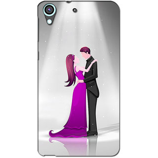 Instyler 3D Digital Printed Back Cover For Htc Desire 626