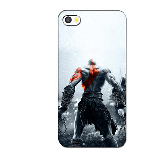 Instyler 3D Digital Printed Back Cover For Apple Iphone 4