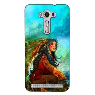 Instyler 3D Digital Printed Back Cover For Asus Zenfone 2Lazer Ze550Kl