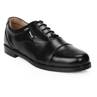 Red Chief Men'S Black Formal Lace-Up Shoes