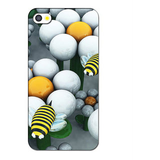 Instyler 3D Digital Printed Back Cover For Apple Iphone 4S