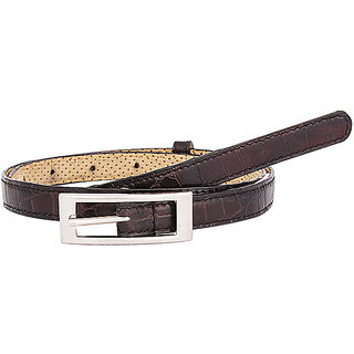 TOOG Black Leather Casual Free Size Belts (TG378)