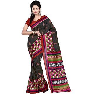 Thankar Multy Printed Bhagalpuri Saree