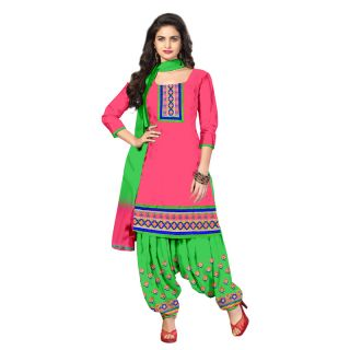 Grand Dharmnandan Fashion Women Cotton  Salwar Suit Dress Material