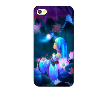 Instyler 3D Digital Printed Back Cover For Apple Iphone 5S